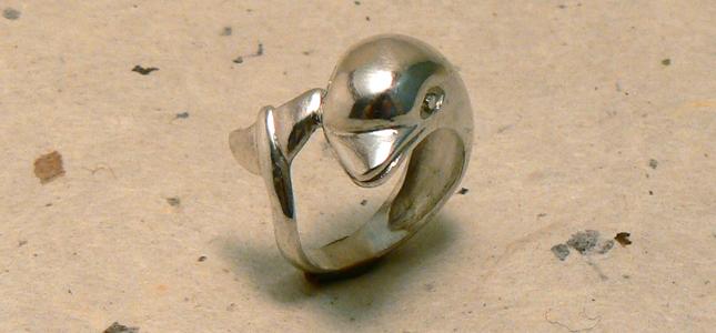 delfino | anelli in argento