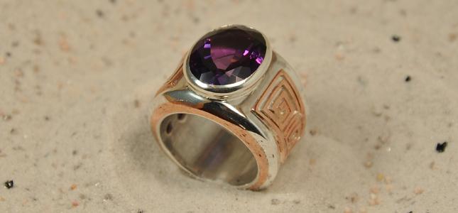 argento e rame | anelli in argento