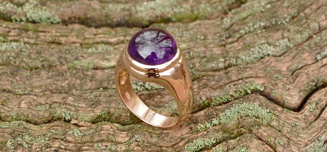 boucheron ametista | anelli in oro