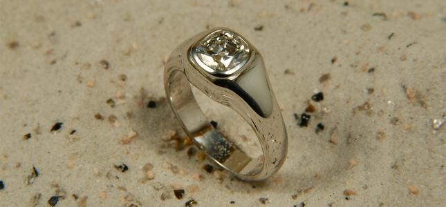 chevalier quadrato | anelli in oro