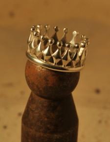corona | anelli in argento