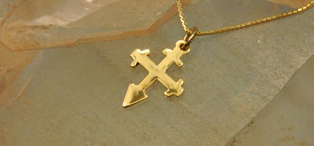 santiago cross | pendants