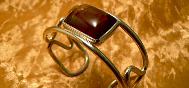 amethyst squared wire | bracelets