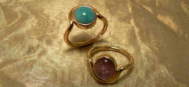 filo giro | anelli in oro