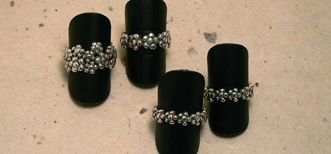 fiorellini | anelli in argento