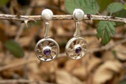 sole americano | orecchini in argento