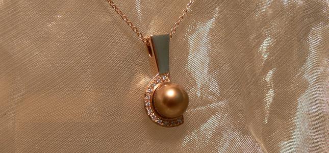 chocolate pearl | pendants