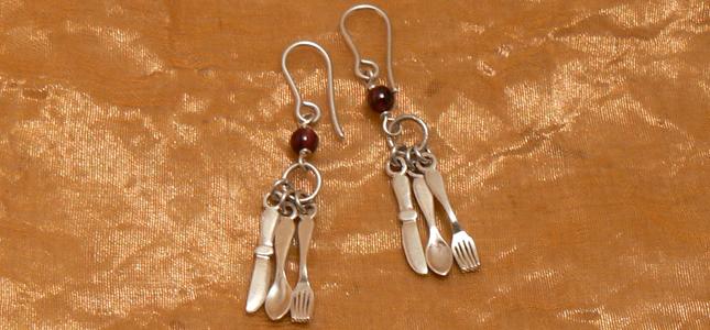 silverware| earrings