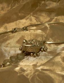 rana | girocollo in argento