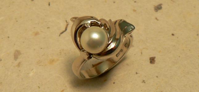 salto della perla | anelli in oro