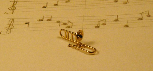 trombone | pendants