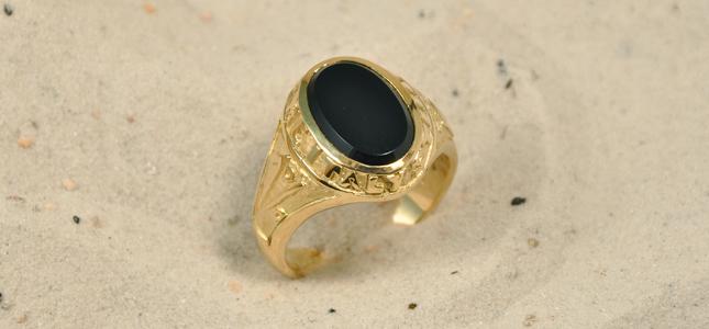 un per cento | anelli in oro
